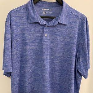 Reebok Speedwick Space Dye Polo Shirt